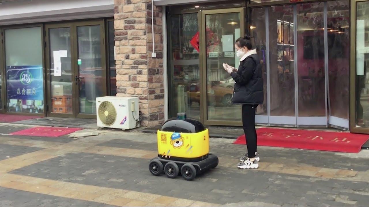 Grocery delivery Robot RoboPony gains popularity amid Coronavirus