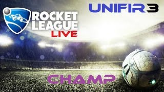 ROCKET LEAGUE (RLCS Training + CHAMP Rank) #7 | PS4 Gameplay | LIVE Stream