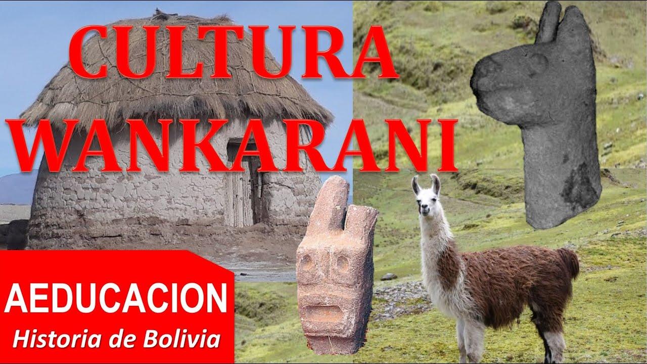CULTURA WANKARANI - BOLIVIA - AEDUCACION