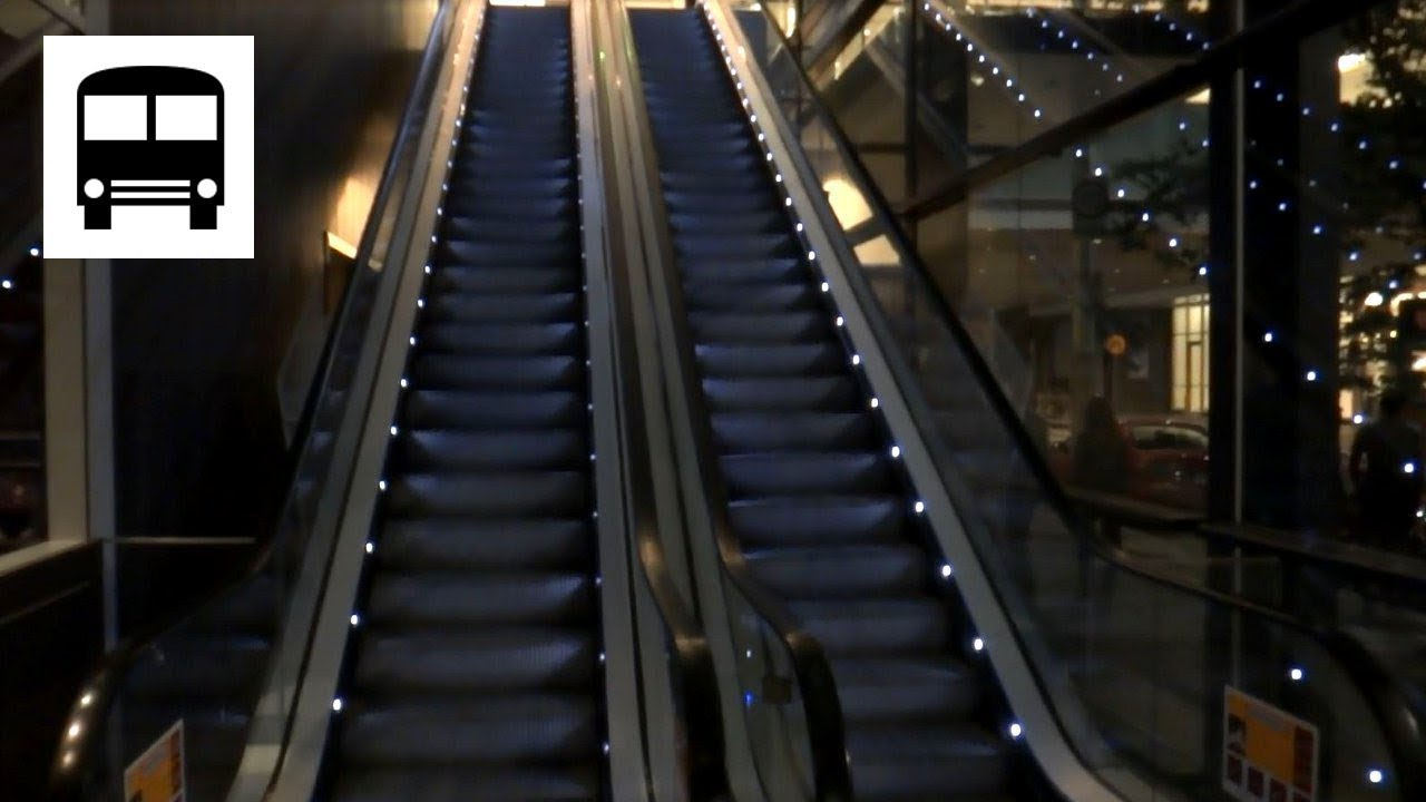 Canberra Centre Australia Kone Escalator Lighting Effect