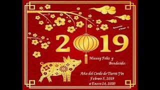 Muuuy Feliz y Bendecido 2019 Año del Cerdo de Tierra Yin ♥