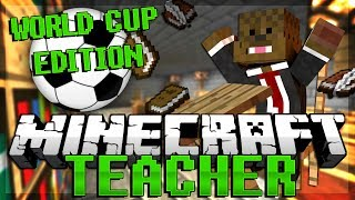 World Cup FIFA Soccer (Football) Edition Minecraft Teacher Minigame