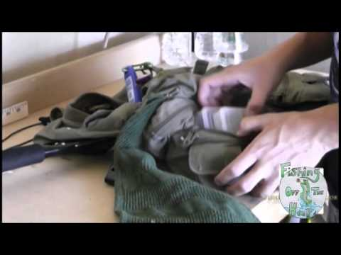How To Pack A Vest (Spin Fishing) - Fishing Off The Hook