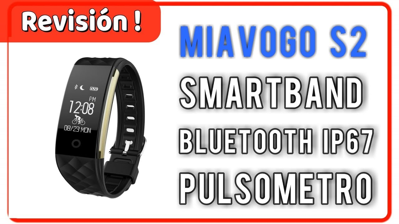 b70af38aa Smartband Miavogo S2 Pulsera Deportiva Ritmo Cardíaco   UnBoxing Review en  Español