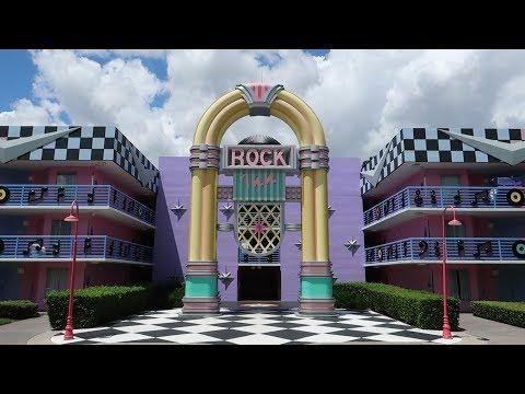 Disneys All Star Music Resort Walking Tour  Pools, Food Locations & Amenities