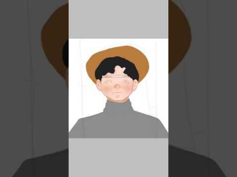 วาดรูปการ์ตูนสไตล์เกาหลี แบบสปีดเพ้น