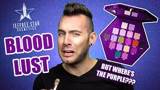 Jeffree Star BLOOD LUST Review + PALETTE GIVEAWAY