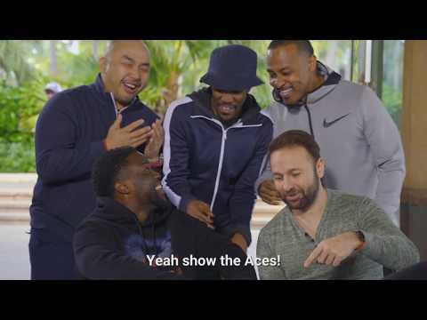 Kevin Hart Plays Usain Bolt at Challenge Poker   Part 2   PokerStars