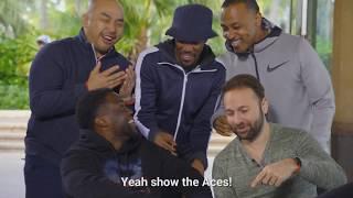 Kevin Hart Plays Usain Bolt at Challenge Poker | Part 2 | PokerStars