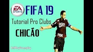 Fifa 19 | Tutorial face Chicão - Corinthians | Pro clubs