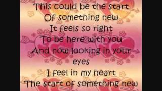 Zac Efron & Vanessa Hudgens-Start Of Something New//Lyrics