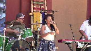 Rebecca Arscott & One Heart Fyah @ New Mexico State Fair Indian Village 2016 Clip 3
