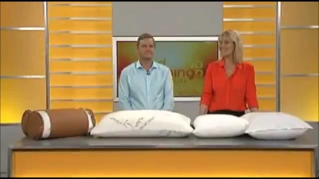 The Original Bamboo Pillow As Seen On TV  YouTube