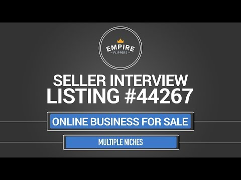 Online Business For Sale – $2.6K/month in Multiple Niches
