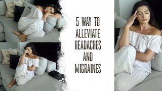 How To Alleviate Headaches & Migraines At Their Onset | Andreea Cristina