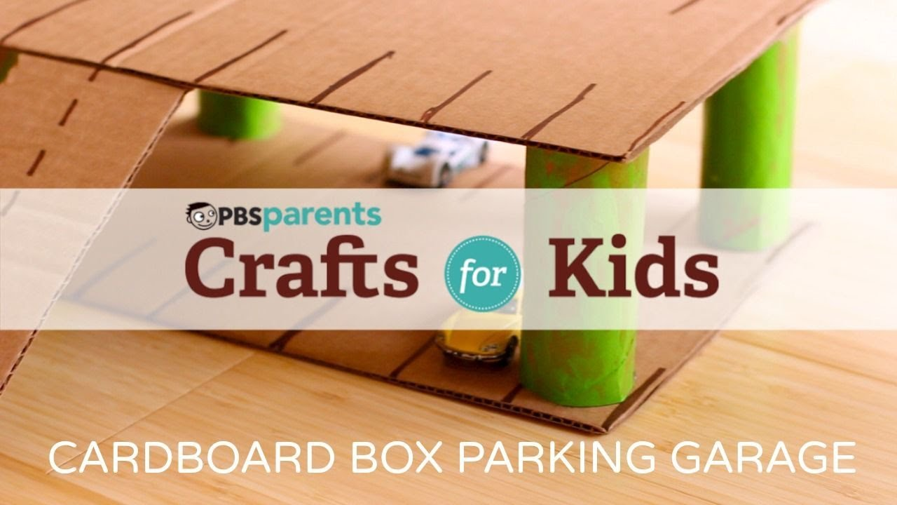 Cardboard Parking Garage Crafts For Kids Pbs Parents Youtube Shed Alarm Circuit Schematic Diagram