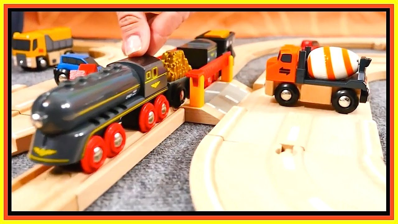 toys demo brio cars trains barrier rules toy railway trains trucks videos for kids. Black Bedroom Furniture Sets. Home Design Ideas