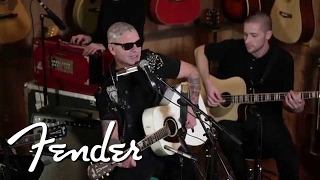 Rancid frontman Tim Armstrong performed a few stripped-down tracks ...