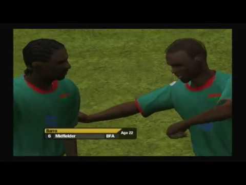 RTFWC06 Simulator; Burkina Faso vs  Congo DR