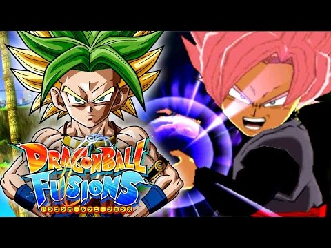 GOKU BLACK SUPER SAIYAN ROSE & SUPER BLACK KAMEHAMEHA!!! | Dragon Ball Fusions DLC Gameplay!
