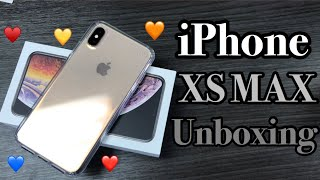 Gold iPhone Xs Max Unboxing Setup Annah Beauty