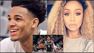 Spurs G Dejounte Murray BREAKSUP W/ IG Model GF For Being A