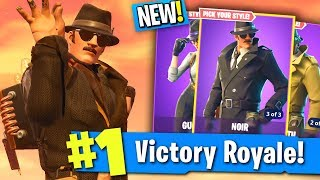 Should You BUY THESE FORTNITE SKINS? (New DETECTIVE Fortnite Skins Gameplay)