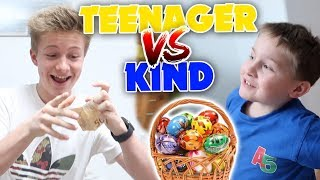 Teenager vs Kind - Ostern 🐰🍭