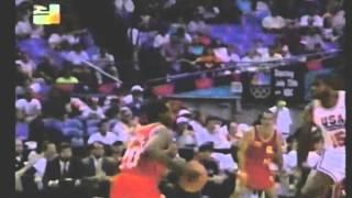 Highlights de Venezuela  vs The Dream Team. Preolímpico 1992. RCTV