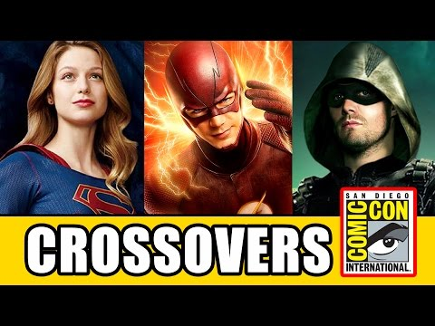 DC CROSSOVERS The Flash, Arrow, Supergirl & Legends of Tomorrow - Comic Con 2016