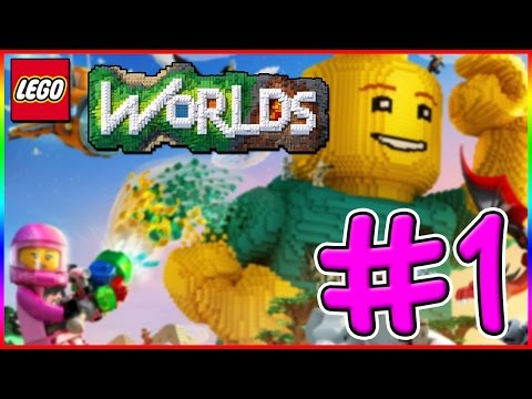 THE START OF A NEW ADVENTURE! LEGO Worlds Xbox One Gameplay - Episode 1
