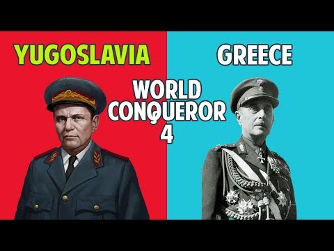 Yugoslavia and Greece Conquest !! HARDEST AI in WC4 ! World Conqueror 4 Gameplay