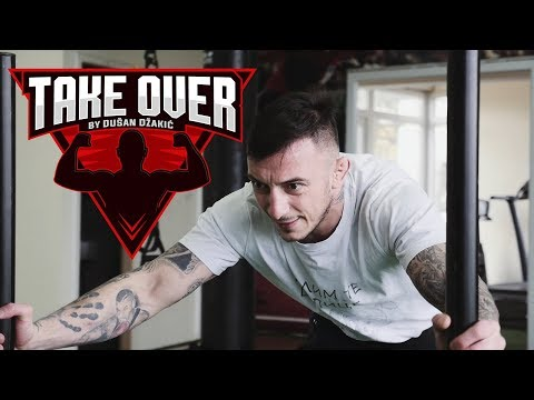Dusan Dzakic MMA HARD WORKOUT MOTIVATION /// TAKE OVER /// NEFFEX - Light It Up ///