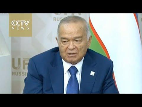 Uzbek State TV reports the death of President Islam Karimov