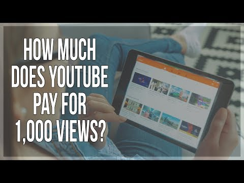 How Much Money Does YouTube Pay For 1,000 Views (SHOCKING)