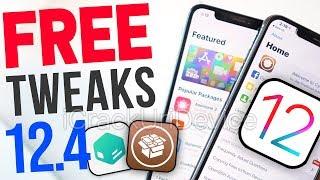 Top 75+ Best FREE iOS 12.4 Jailbreak Tweaks! (Cydia & Sileo #2)