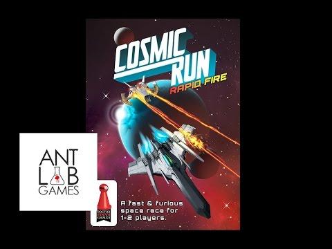 Cosmic Run: Rapid Fire Playthrough Kickstarter Preview