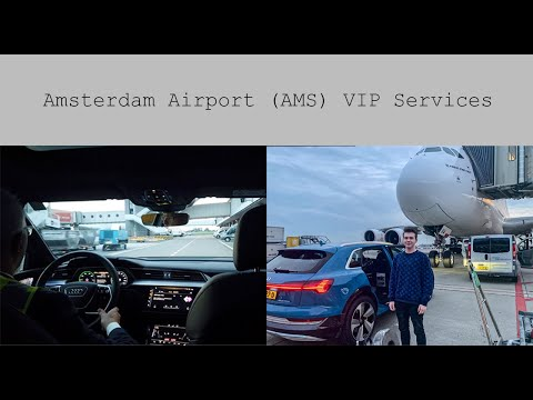 Amsterdam Airport VIP services
