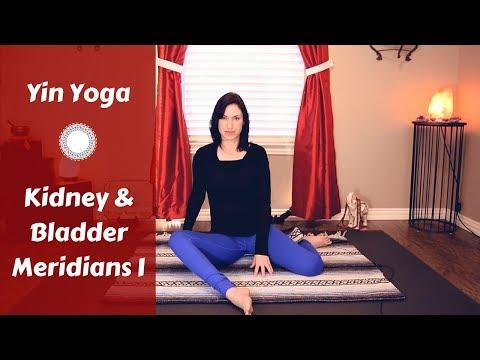 Yin Yoga for Kidney & Bladder Meridians {30 mins} | Yoga for Inner Legs, Back & Chest | Deep Stretch