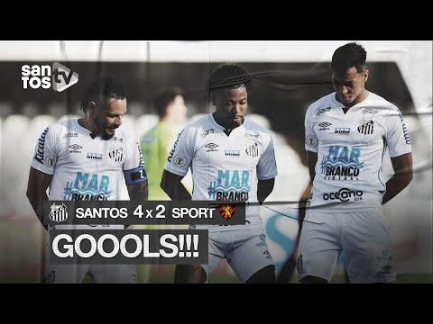 SANTOS 4 X 2 SPORT | GOLS | BRASILEIRÃO (28/11/20)