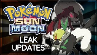 Pokémon Sun and Moon | Leak Updates