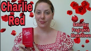 Charlie Red Saturday Fragrance Shakedown