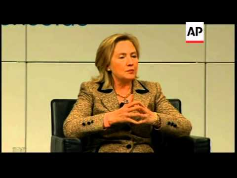 WRAP Clinton says Mideast status quo unsustainable