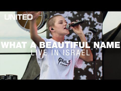 What A Beautiful Name  in Israel - Hillsong UNITED
