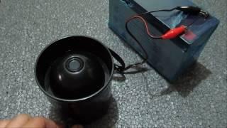 K25 HP Fotoselli Tek Sesli Hoparlör Teyp 20 Watt