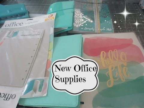 New Office Supplies  | aSimplySimpleLife