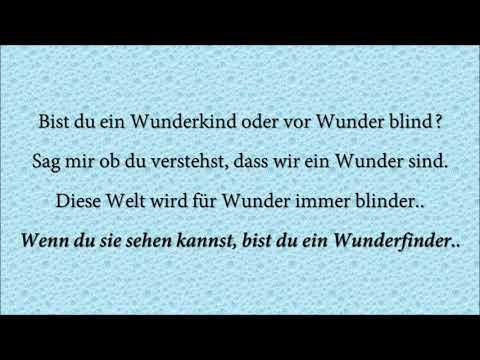 Wunderfinder   Lyric video   Alexa Feser ft. Curse