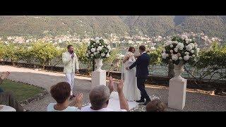Wedding in Italy Como lake Свадьба на озере Комо