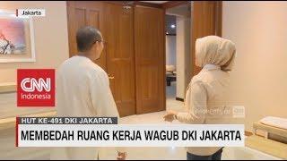 Membedah Ruang Kerja Wagub DKI Jakarta, Sandiaga Uno