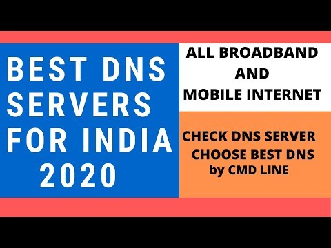 Best DNS SERVERS For India 2020